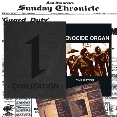 GENOCIDE ORGAN Civilzation 2xCD