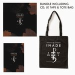 INADE The Nine Colours of the Threshold LP/CD/TAPE/BAG BUNDLE